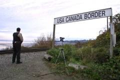 Des Iraniens et Américains d'origine iranienne détenus à la frontière Peace Arch