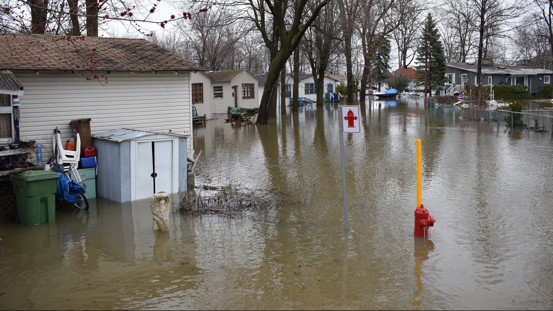 Inondations: des pluies records au mois de mars 2020