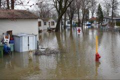 Inondations: des pluies records au mois de mars