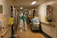 Taux d'achalandage à l'Hôpital de Verdun