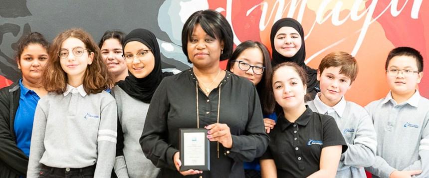 Une enseignante d'anglais de Calixa-Lavallée reçoit une distinction pour ses méthodes «innovantes»