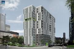 Logement: la plus grande coopérative d'habitation de Montréal en voie de voir le jour dans l'ouest du centre-ville