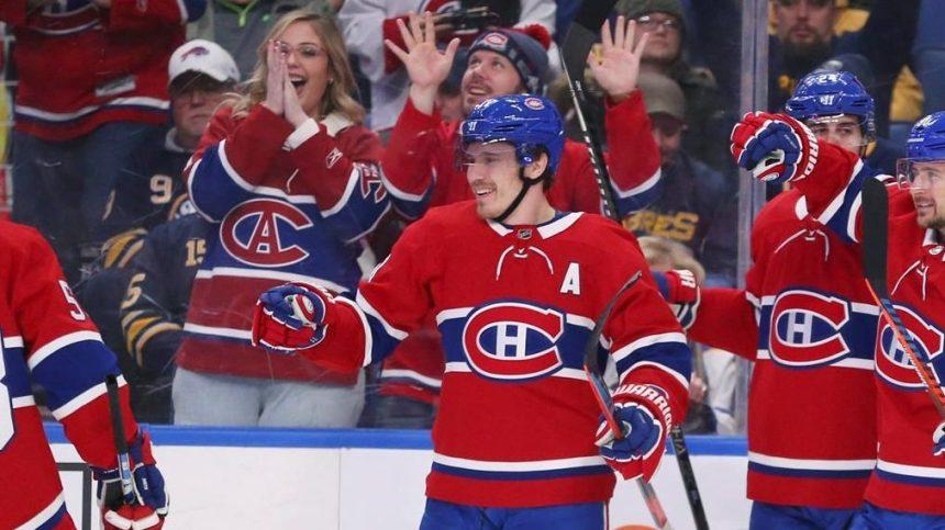 Gallagher fait sentir sa présence dans un gain de 3-1 du Canadien