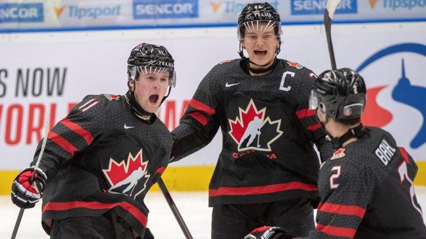 Hockey: le Canada défait la Finlande 5-0 et accède à la finale du Mondial junior
