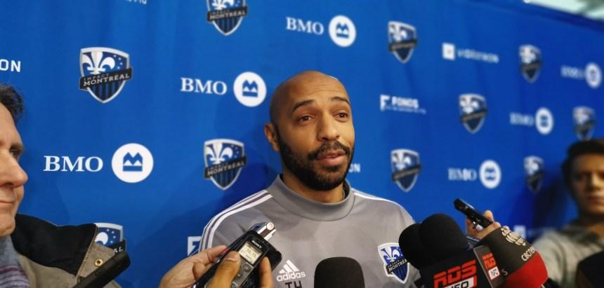 Impact de Montréal : Thierry Henry fait son entrée au Complexe sportif Marie-Victorin