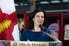 Financement du transport en commun: «35 G$ nécessaires» dans les prochaines années, selon Valérie Plante