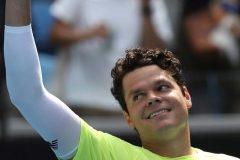Raonic passe en quarts de finale; son prochain rival est Djokovic