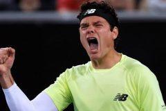 Tennis: Milos Raonic défait Stefanos Tsitsipas au 3e tour en Australie