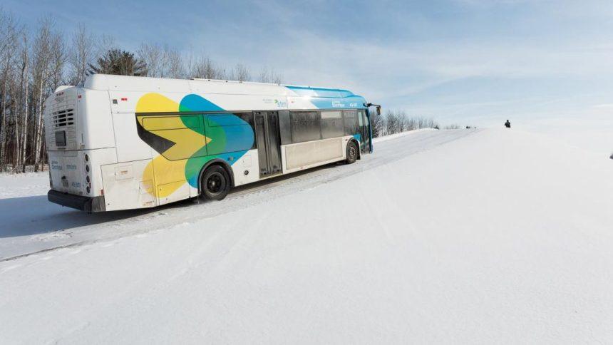 STM: des tests convaincants pour le premier bus électrique à grande autonomie
