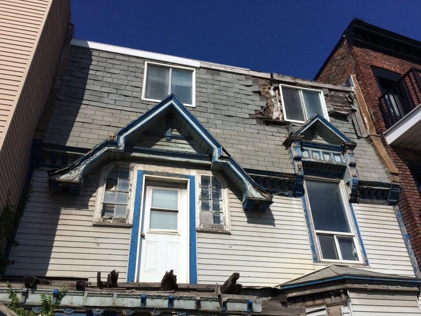 Mercier-Ouest: une maison historique démolie