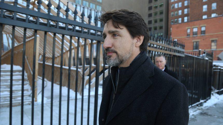 Barricades: la patience des Canadiens a atteint sa «limite», dit Trudeau