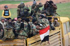 Les forces du régime syrien pénètrent dans la ville stratégique de Saraqeb