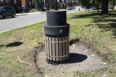 RDP-PAT : de nouvelles poubelles sous terre dans les parcs