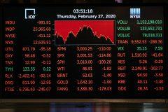 Les indices boursiers mondiaux contaminés par le nouveau coronavirus