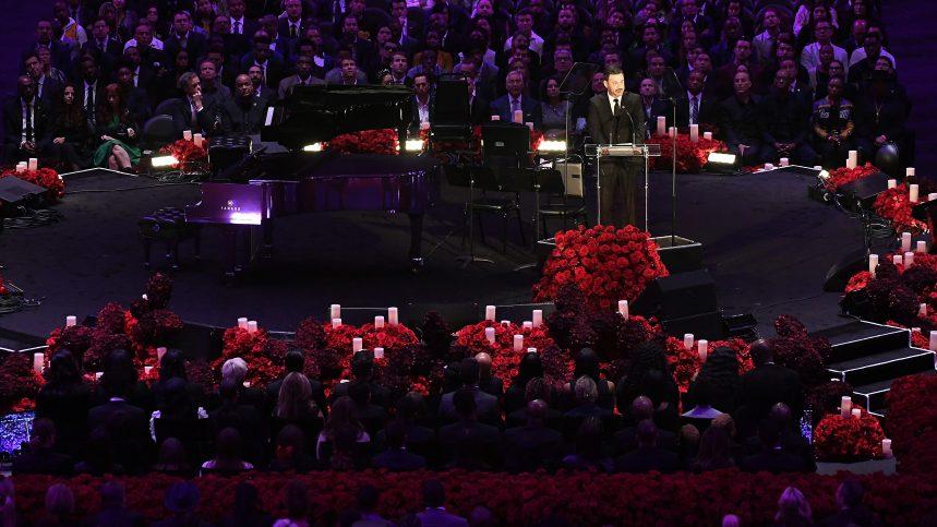 Au Staples Center, le dernier Adieu aux larmes à Kobe et Gianna Bryant