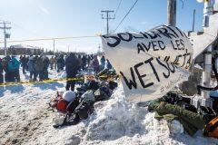 Deux mobilisations à Montréal contre le gazoduc Coastal GasLink
