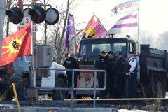 Mohawks de Tyendinaga: la police démantèle les barricades