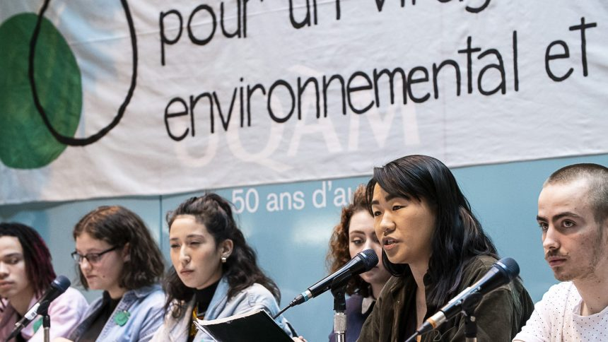Le mouvement étudiant prépare une nouvelle grève climatique au Québec