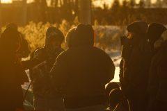 Blocus ferroviaire: l'injonction servie aux manifestants à Saint-Lambert