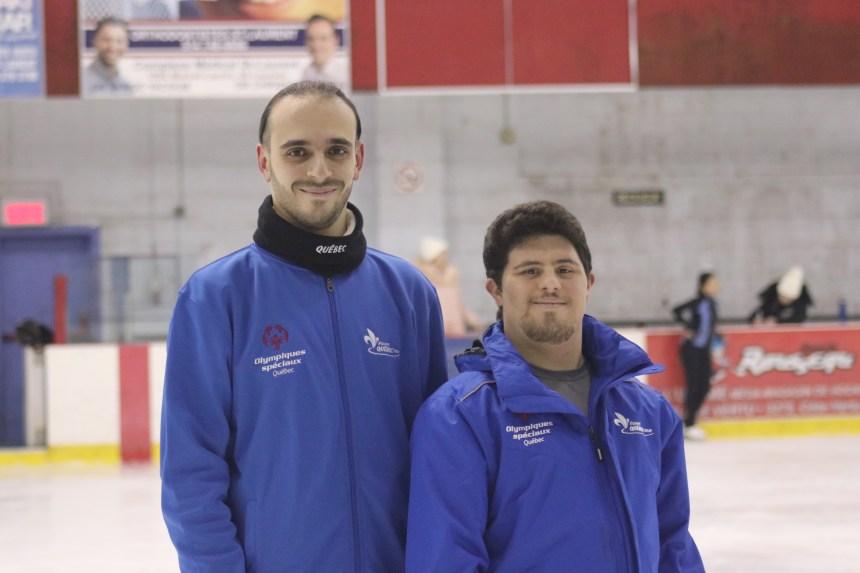 Deux patineurs du CPA Saint-Laurent aux Olympiques spéciaux du Canada