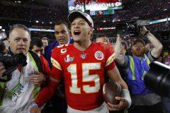 Le quart Patrick Mahomes est nommé le joueur le plus utile du 54e Super Bowl