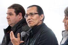 Les chefs héréditaires des Wet'suwet'en réitèrent leurs demandes à Kahnawake