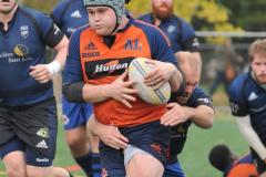 Un joueur de rugby de Verdun, Jérémi Leduc avec Équipe Canada