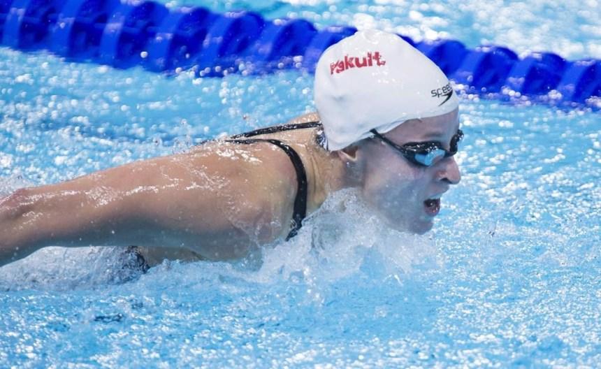Katerine Savard aimerait défendre sa médaille au relais 4×200 m libre à Tokyo