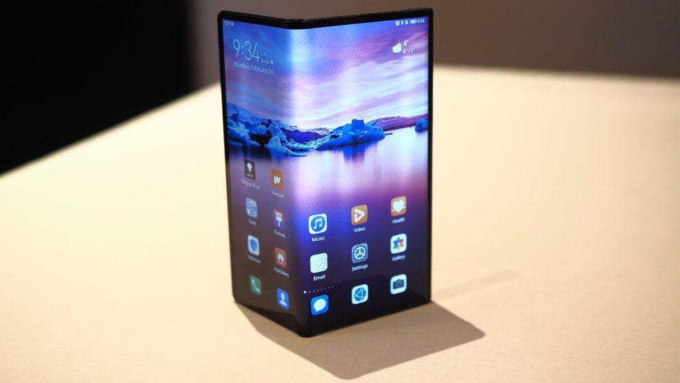 Aperçu du téléphone pliable Huawei Mate XS