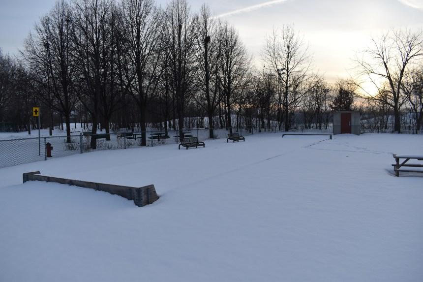 Nouvelles installations aux parc Grier, Alexander et des Érables