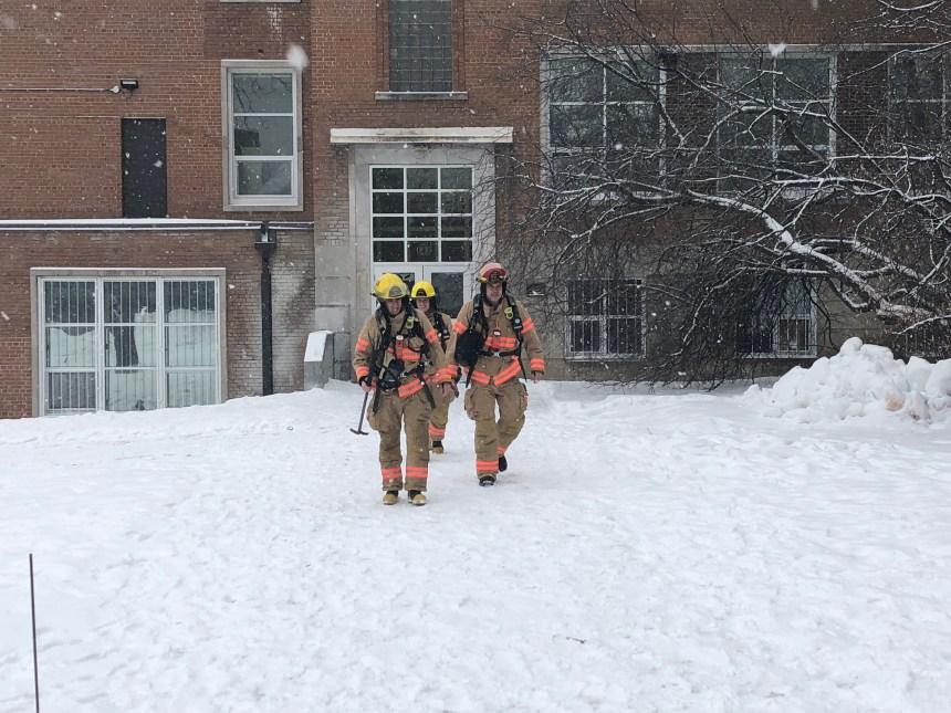 L'école Macdonald évacuée