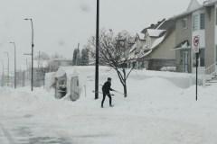 RDP-PAT : la tempête de neige en photos