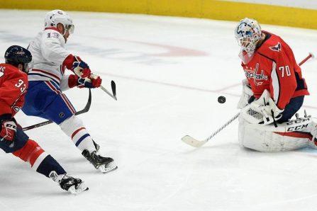 Chiarot tranche en prolongation et le Canadien défait les Capitals 4-3