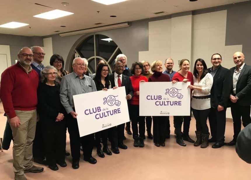 Un nouveau club de la culture voit le jour à Saint-Laurent
