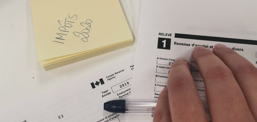 COVID-19: les cliniques d'impôts suspendues