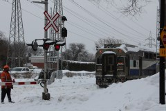 Un mort et un blessé grave dans une collision entre un train et un véhicule à Ahuntsic-Cartierville