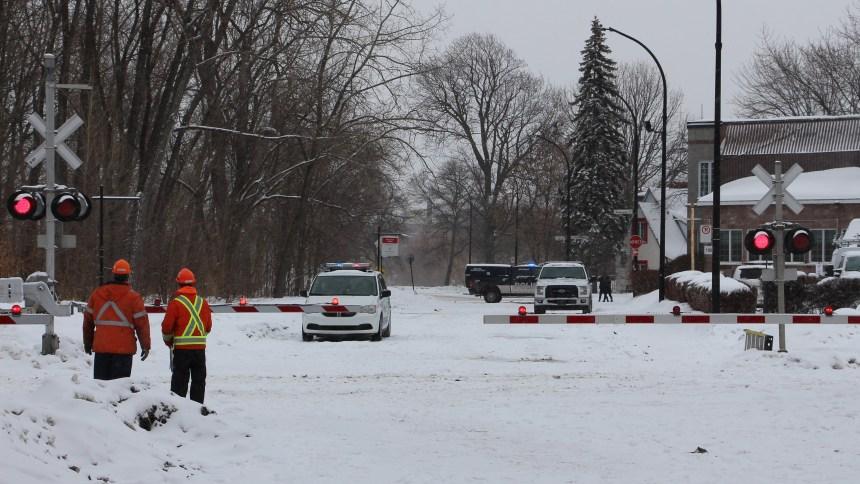 Accident de train à Cartierville : le SPVM recherche un témoin important