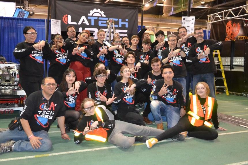 Robotique: succès surprise de la Lakeside Academy