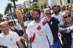 Le coronavirus arrête le relais de la flamme olympique en Grèce