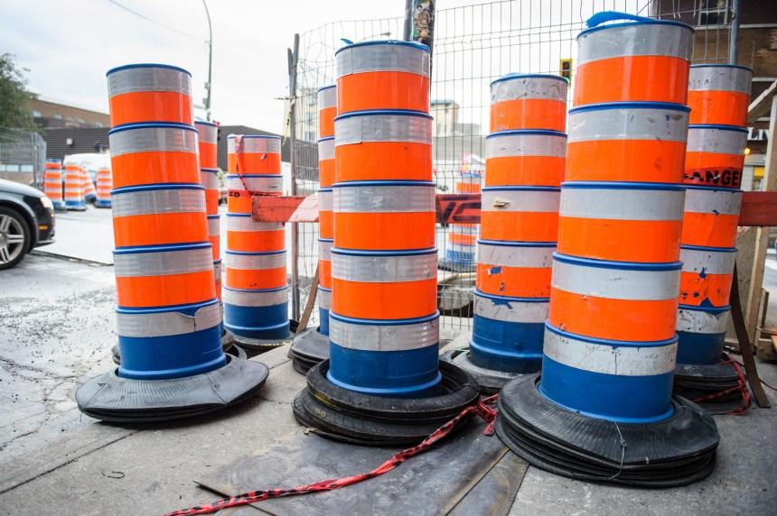 Fin de semaine de travaux sur les routes du Grand Montréal