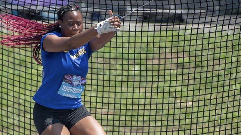 La spécialiste au lancer du marteau, Miranda Tcheutchoua, est parmi les meilleurs espoirs dans sa discipline.