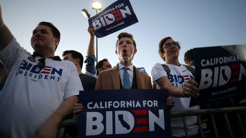 «Super mardi»: Joe Biden a le vent en poupe