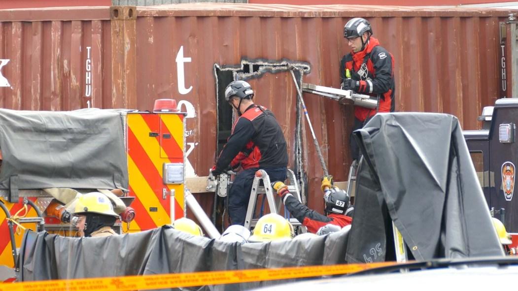 Accident de travail à Saint-Laurent