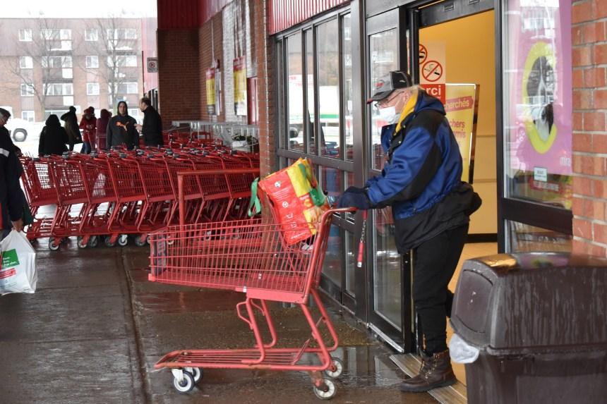 Ruée vers les supermarchés