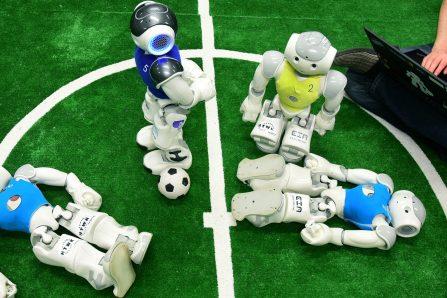 La coupe du monde de soccer pour robots reportée à 2021