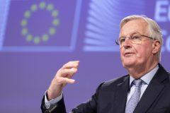Brexit: Barnier présente un projet «ambitieux» d'accord aux États membres