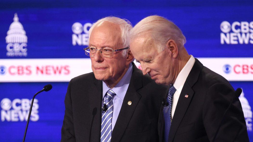 Primaire démocrate: le duel Biden-Sanders perturbé par le coronavirus