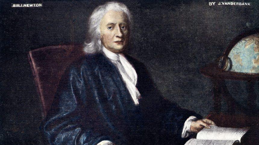 Découverte d'un ouvrage très rare d'Isaac Newton dans une bibliothèque