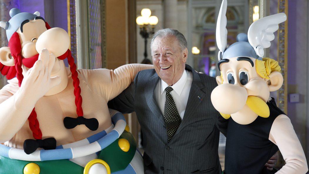 Décès du dessinateur Albert Uderzo, co-inventeur d'Astérix