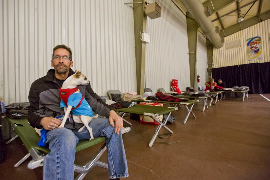 Coronavirus: aucun refuge en cas d'inondations